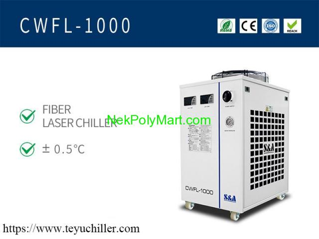 Industrial recirculating chiller for 1KW fiber laser cutting equipment - 1