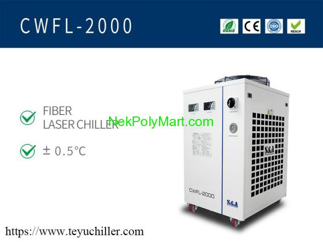 Air cooled chiller for fiber laser welding machine - 1